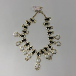 Kendra Scott Whitney Collar Necklace In Black